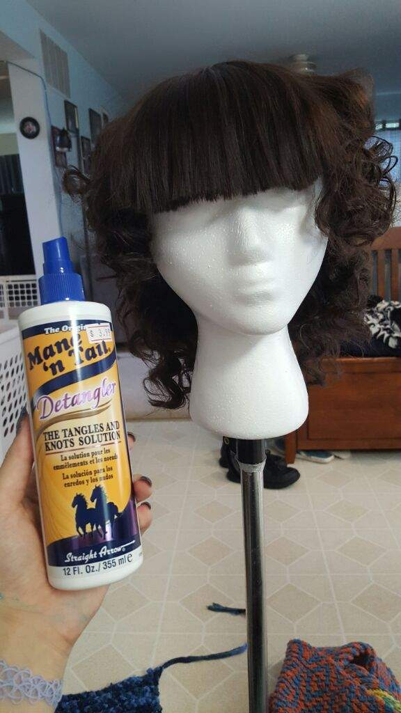 how to curl a wig cosplay