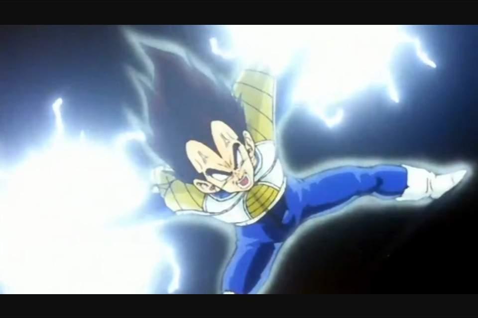 Goku Kamehameha Vs Vegeta Final Flash Drawing