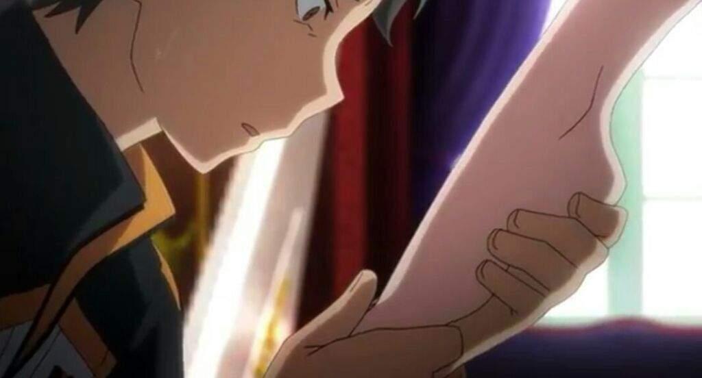 licking anime