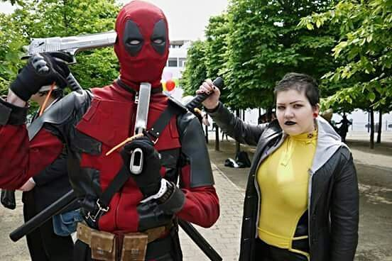 warhead Negasonic cosplay teenage