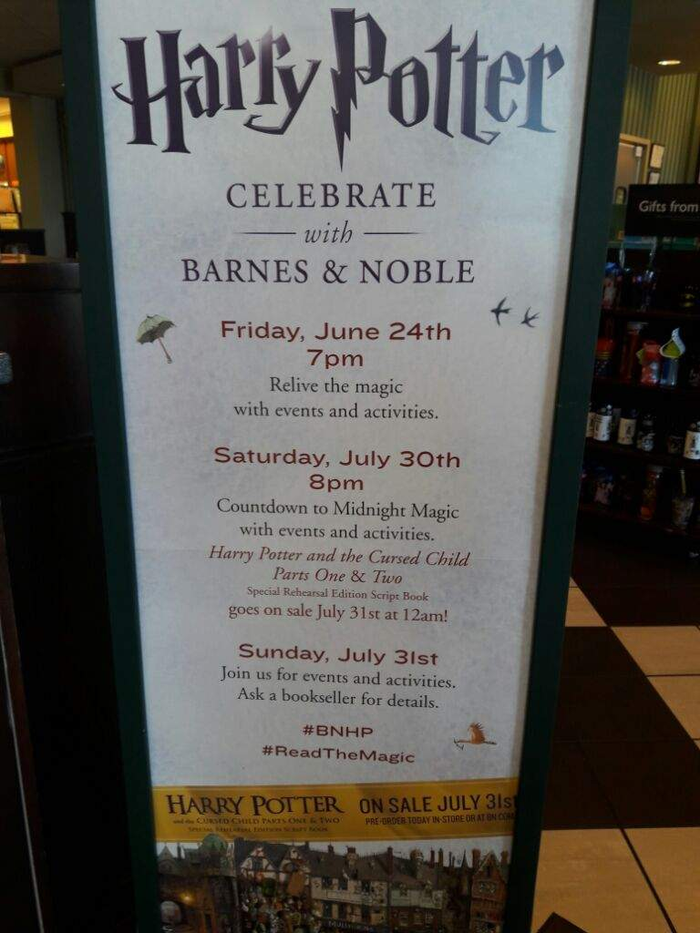 Harry Potter Book July : So who is ready for the barnes noble harry potter st