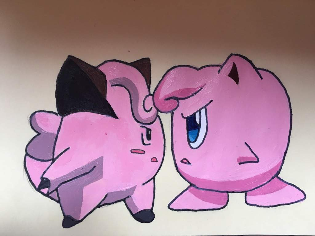 Jigglypuff And Clefairy Pokémon Amino