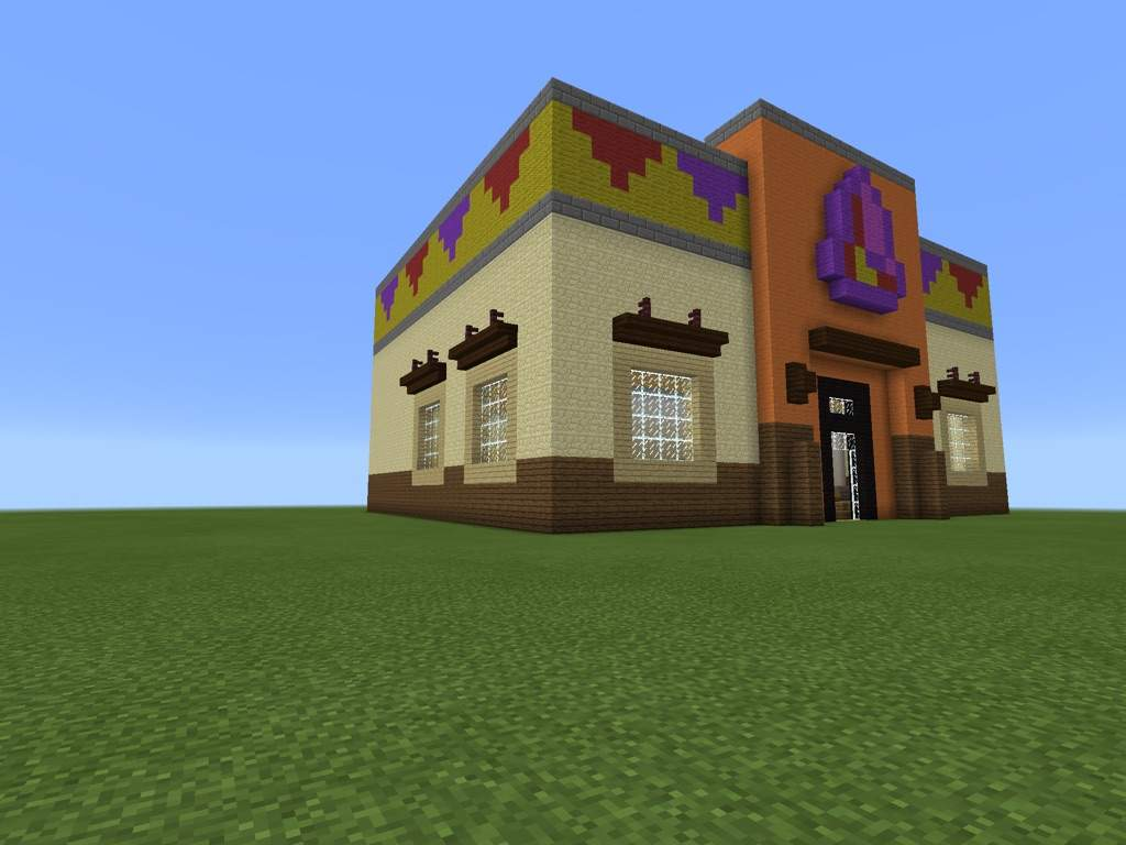 Minecraft How To Build Taco Bell
