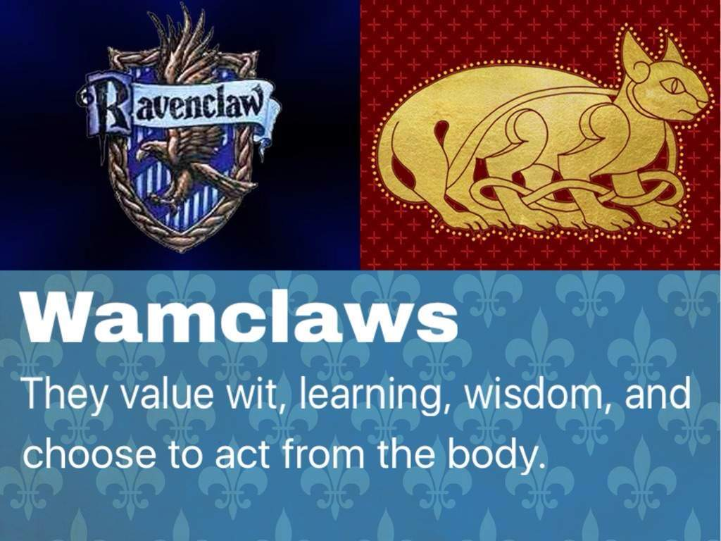 Image result for ravenclaw wampus