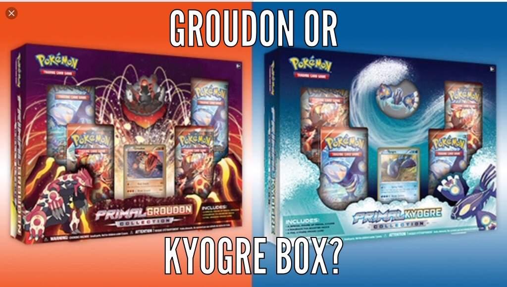 Primal Kyogre Vs Primal Groudon primal groudon box vs primal kyogre box | pokémon amino