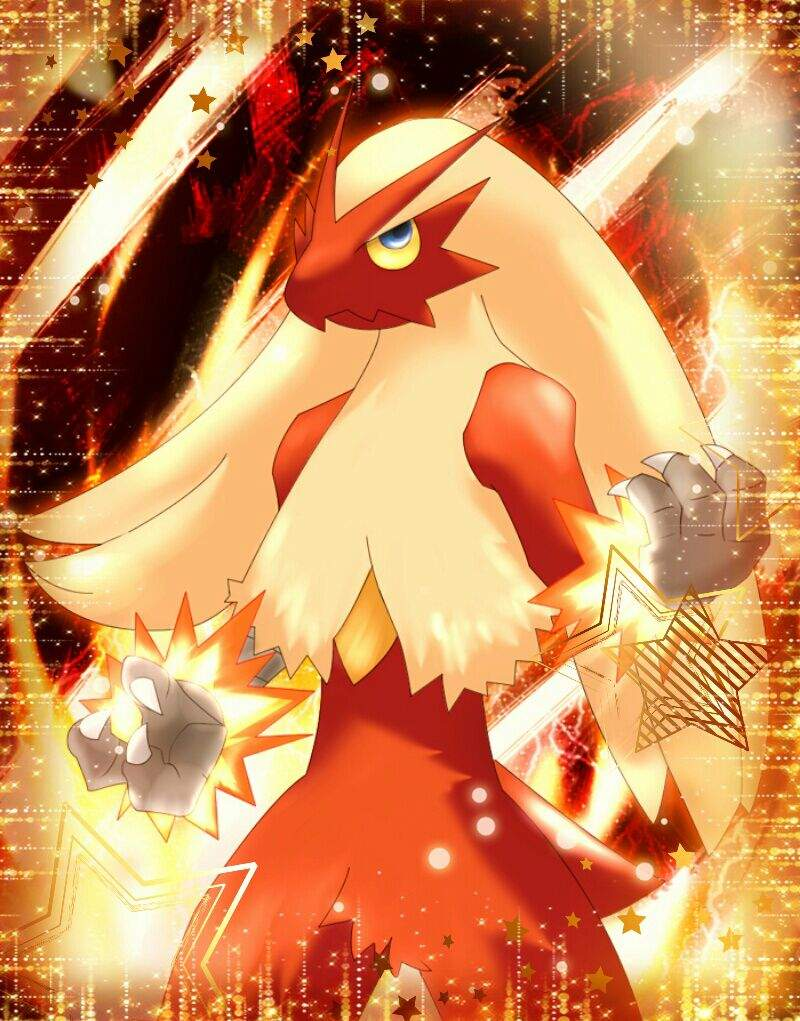 Customise Your Android IOS Device With This New Blaziken Wallpaper