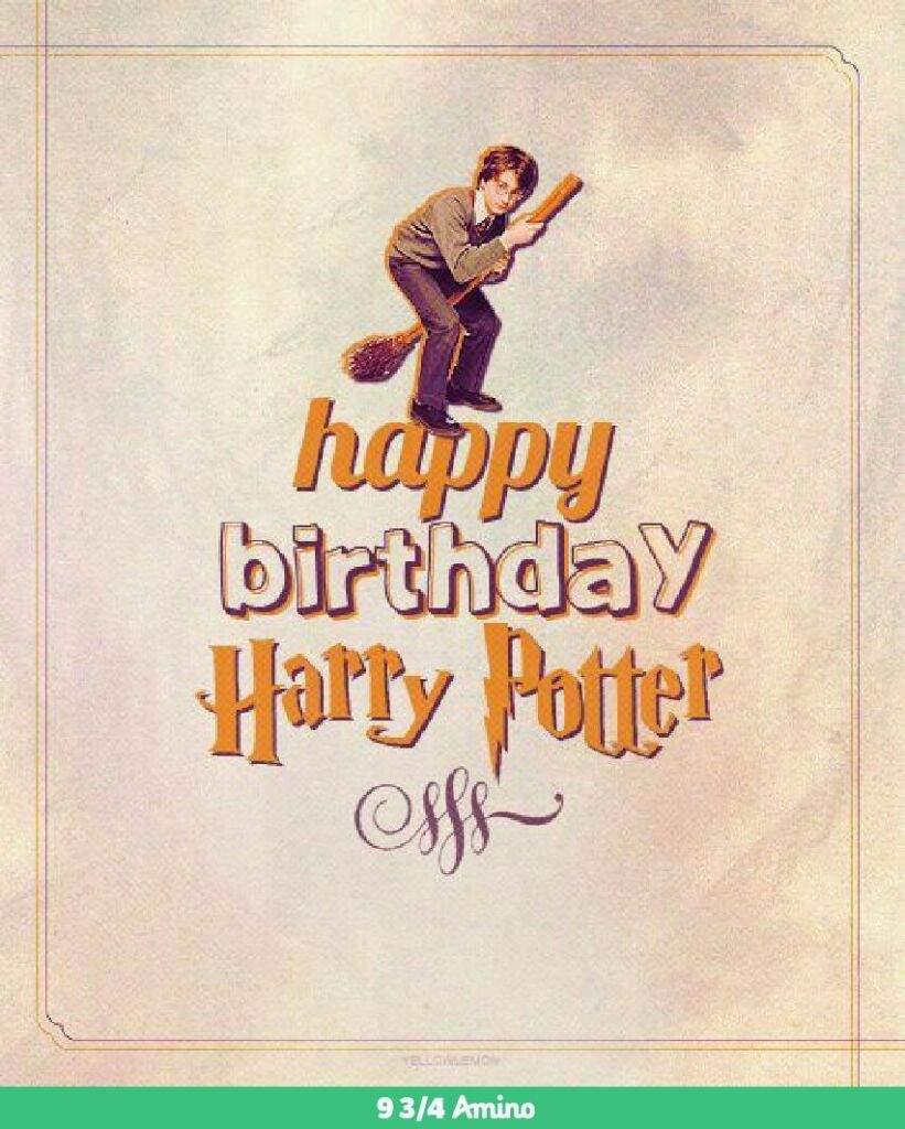 happy birthday harry potter harry potter amino