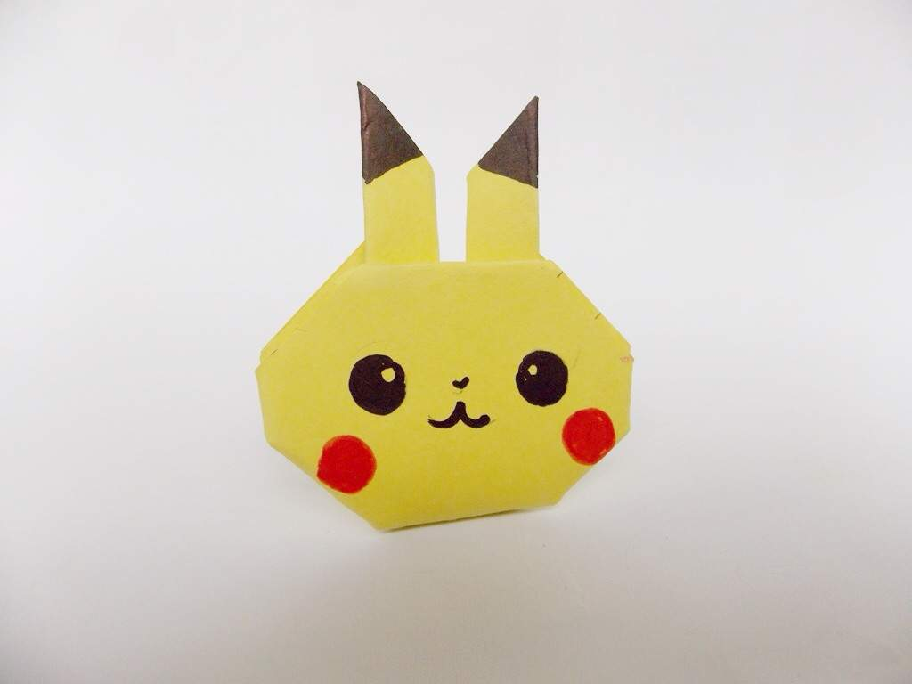 Origami Pikachu Candygold Crafty Amino