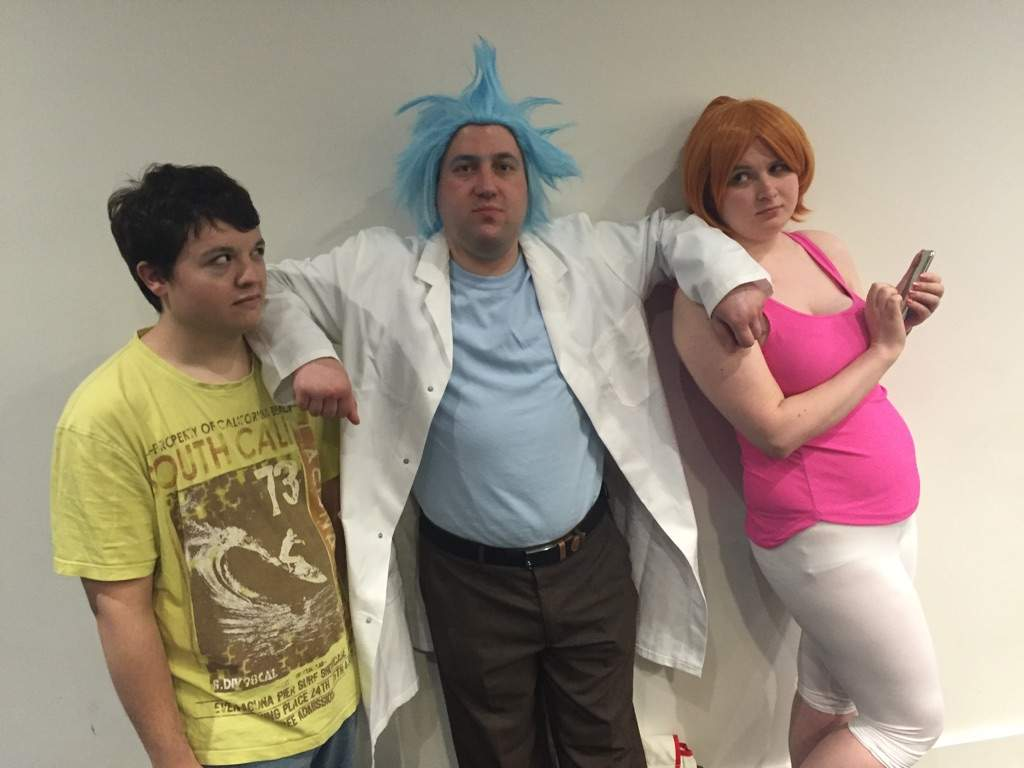 Rick and morty summer cosplay