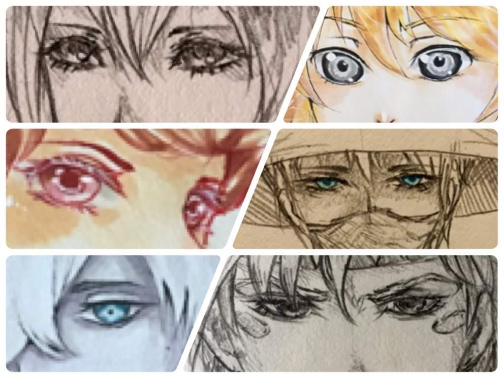 how to draw anime eyelashes
