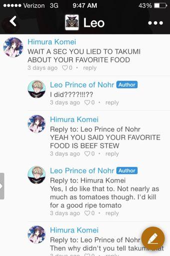 Me vs Leo | Fire Emblem: Fates Amino Amino