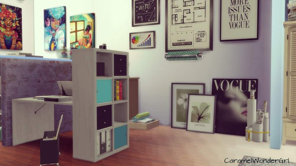 Sims  Fashion Designing Room