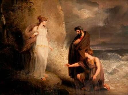 athena and telemachus