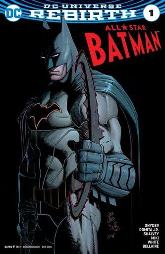 The late comic review show all star Batman | Comics Amino