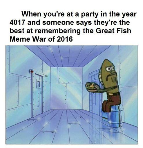 Fred the Fish vs Old man Jenkins! | SpongeBob SquarePants ...