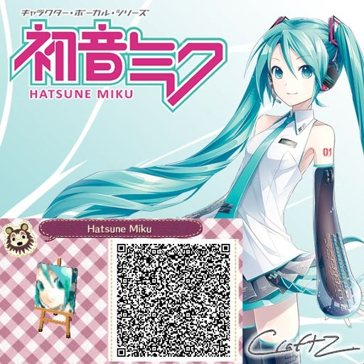 Vocaloid Qr Codes Wiki Animal Crossing Amino