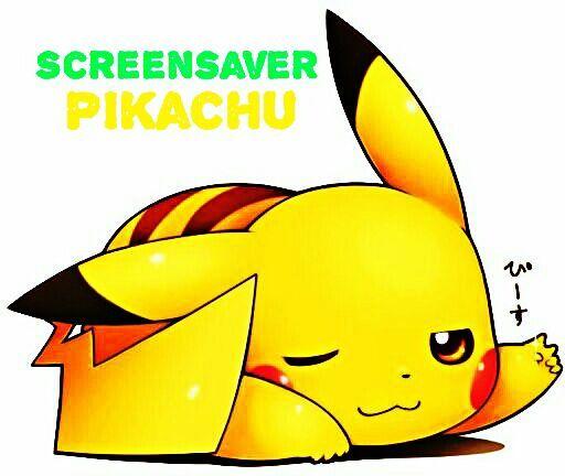 screensaver pikachu pokémon amino