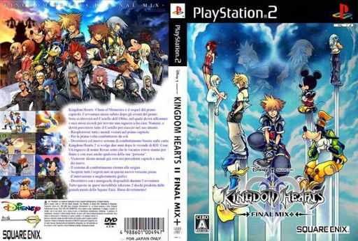 Download Kingdom Hearts II (Spain) ISO for PS2 | •Kingdom