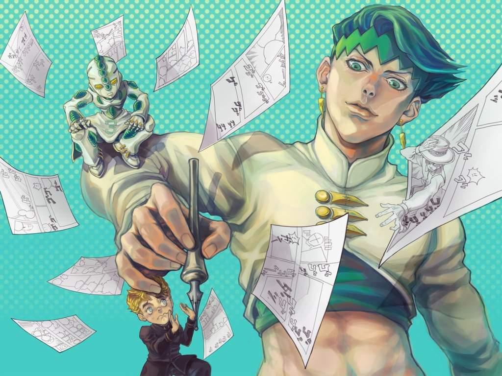 Character Analysis - Rohan Kishibe | Anime Amino