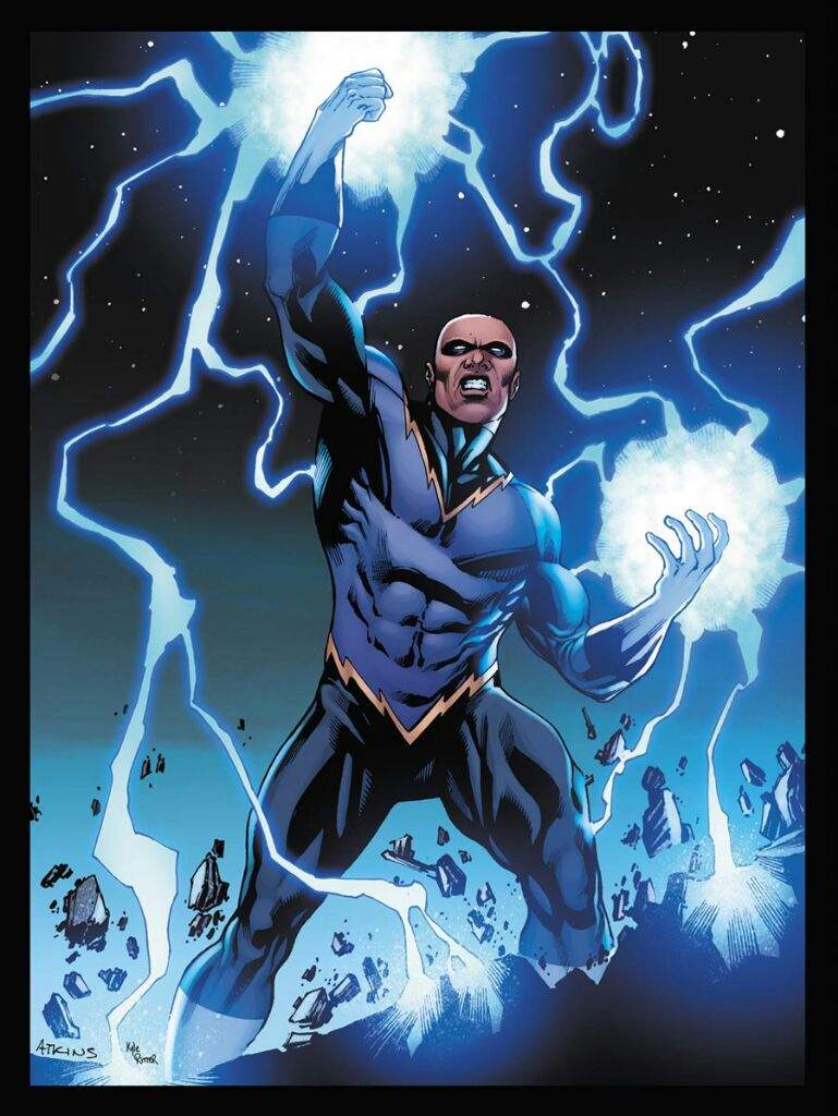 static shock is not black lightning comics amino
