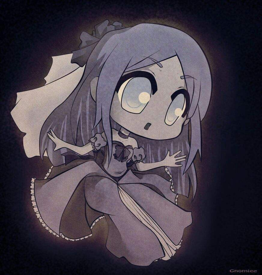 Anime about ghost girl