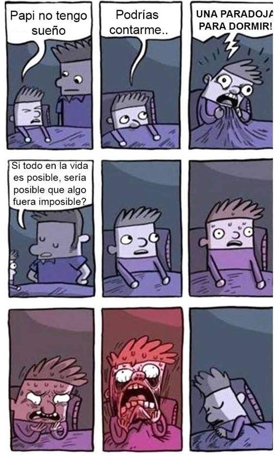 Paradojas de dormir