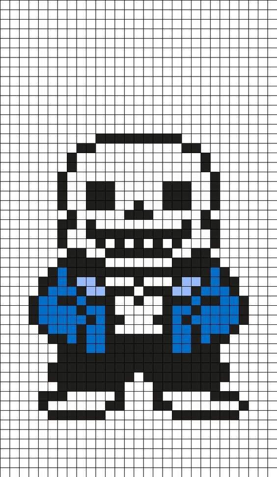 error sans pixel art