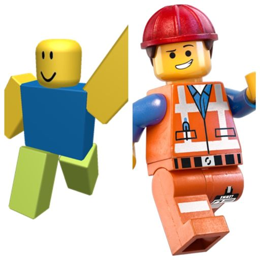 Lego Roblox Noob Who Would Win In A Battle Between Lego Emmet And Roblox Noob Why Lego Amino