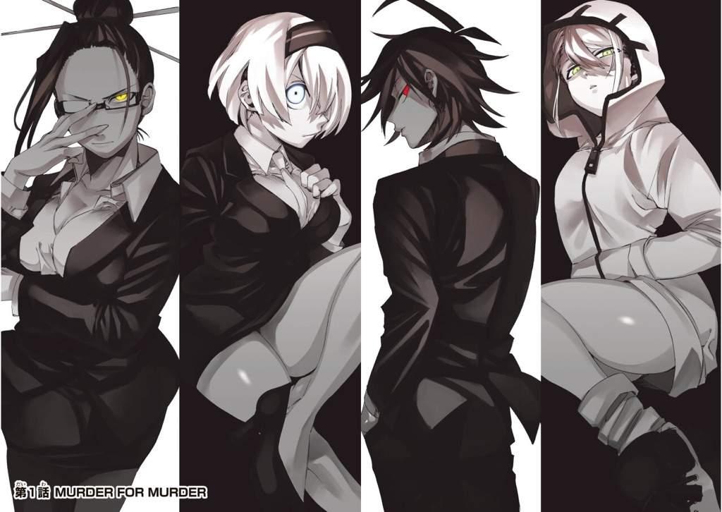 Danganronpa Anime Characters : Danganronpa gaiden killer manga review anime amino