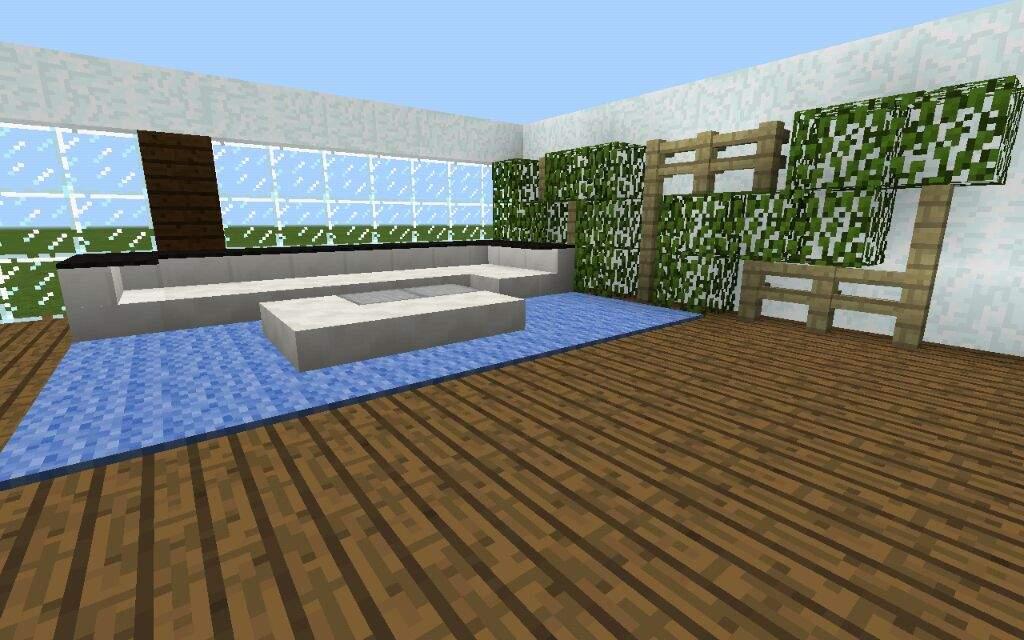 MinecraftModern House Interior IdeasPart 1Minecraft Amino
