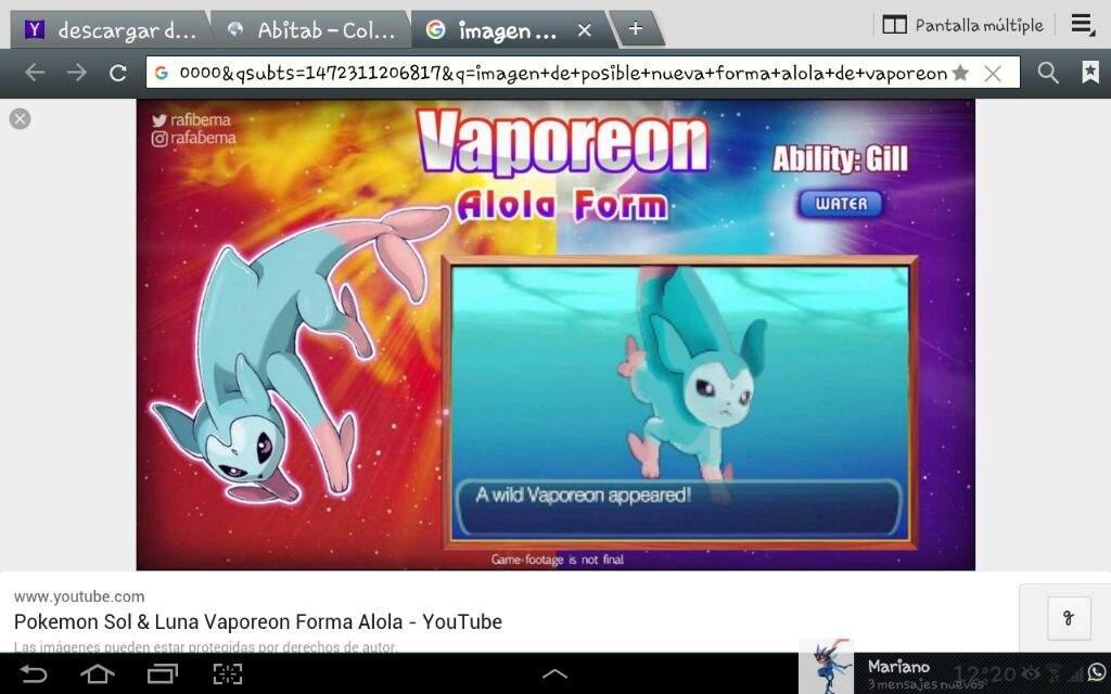 alola vaporeon how to get