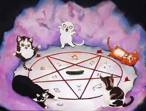 Qe Tierno Su Primer Ritual Satanico Anime Amino