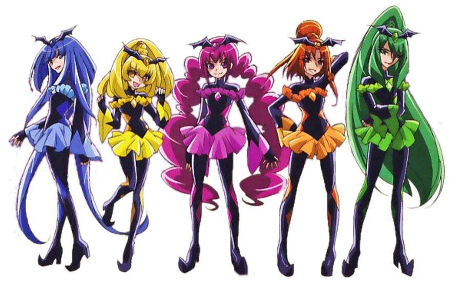 Shadow Force Vs Glitter Force Glitter Force And Precure