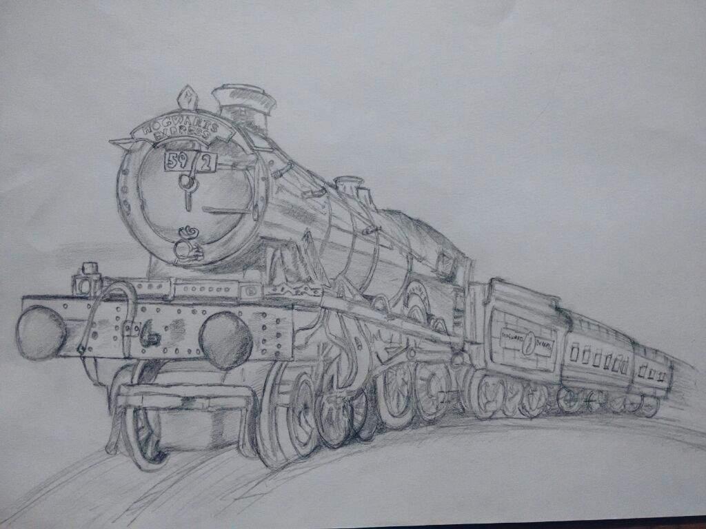 Hogwarts Express Drawing