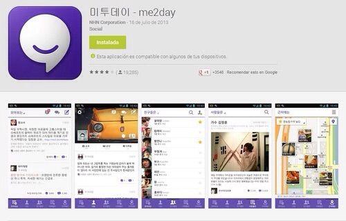 Aplicaciones de redes sociales coreanas