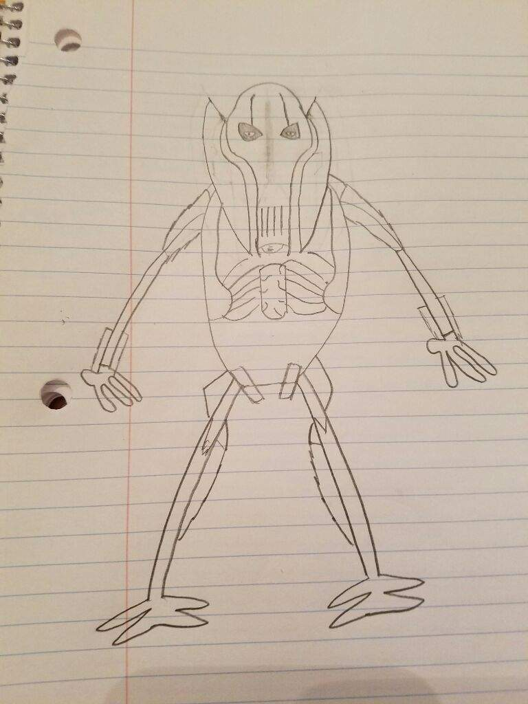 amazing general grievous drawing star wars amino