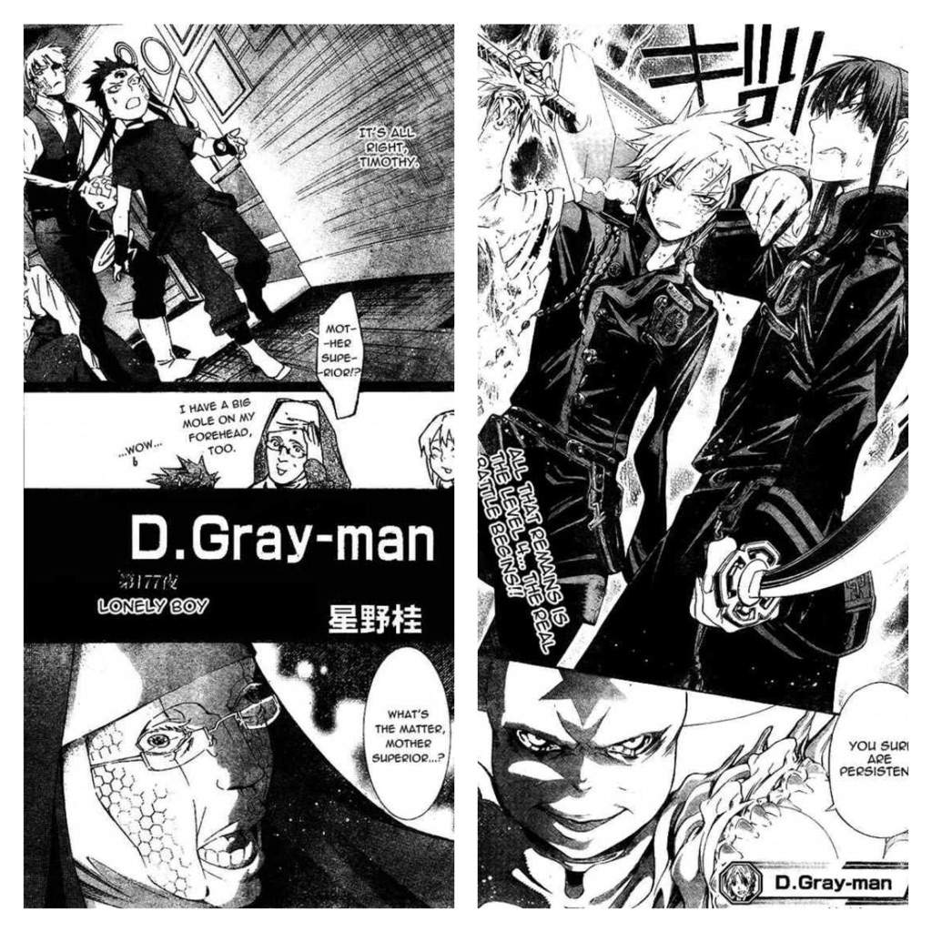D Gray Man Anime Characters : D gray man characters related keywords