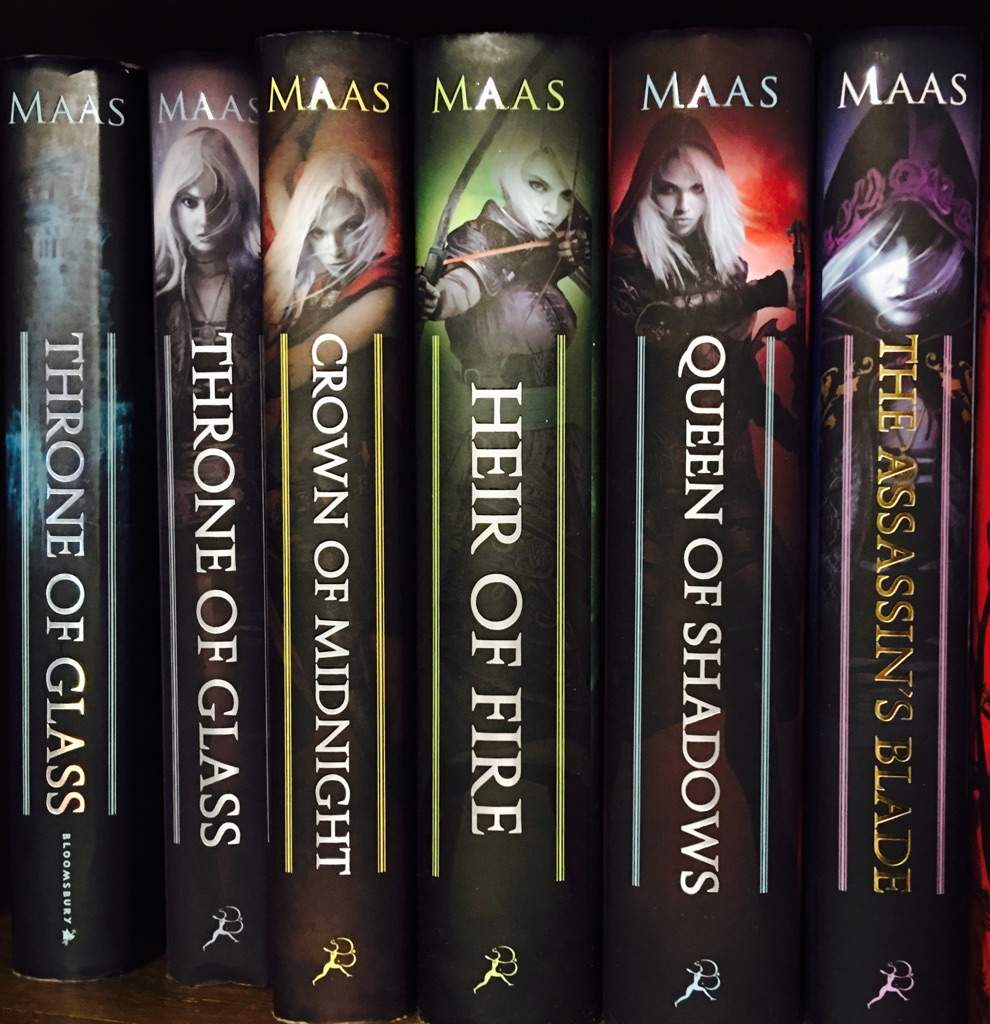 throne of glass reading order books writing amino