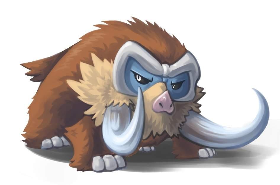 Dawn's Mamoswine   Pokémon Wiki   FANDOM powered by Wikia