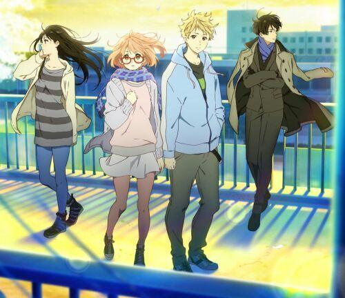 Review Kyoukai No Kanata I Ll Be Here Mirai Hen Anime