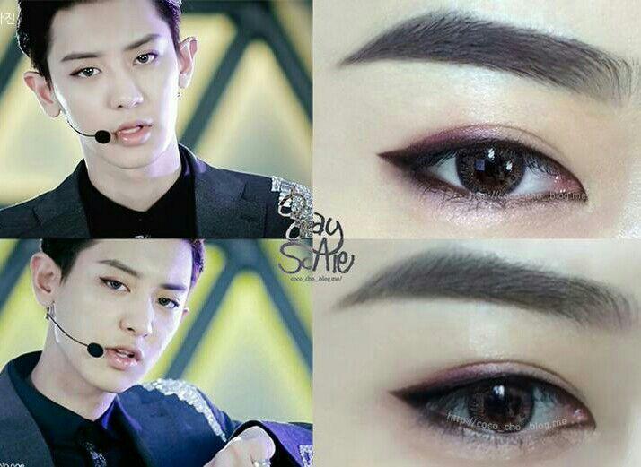 Kpop Makeup For Guys EXO Makeup💄 | K-Pop...