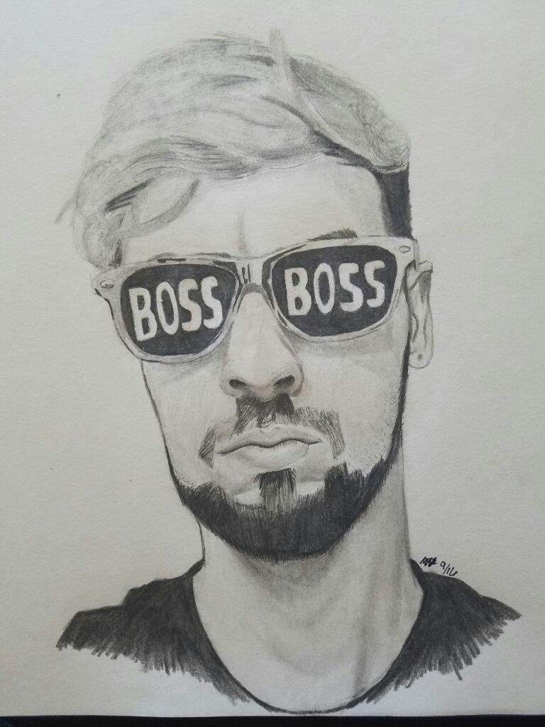 Since Jack Got Some Boss Boss Glasses Recently, I Thought I'd Draw Him