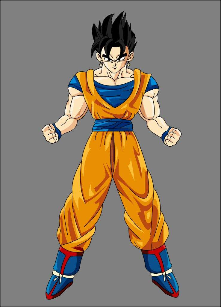 Did you know? Goku/Gohan were supposed to fuse ... Gohan And Vegeta Fusion