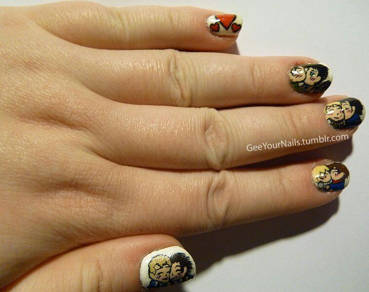 Fandom Shipping Valentine S Day Nail Art Nail Art Amino