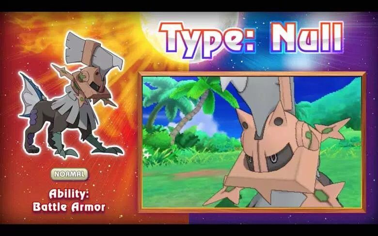 pokemon sun and moon how to get type null where
