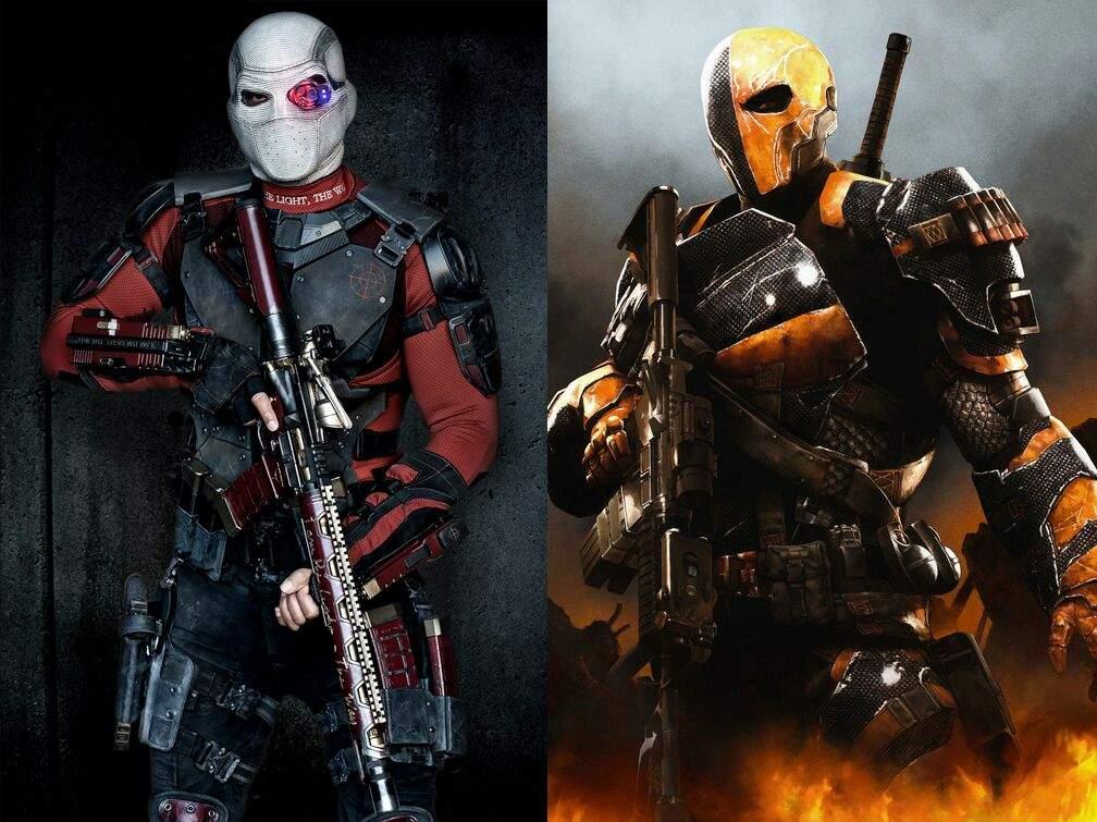 Deathstroke & Deadshot vs Deadpool & Bullseye | Comics Amino