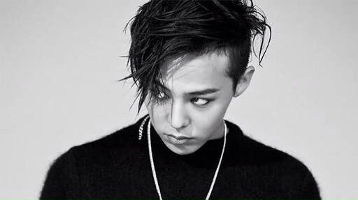 G dragon in black white big bang amino amino