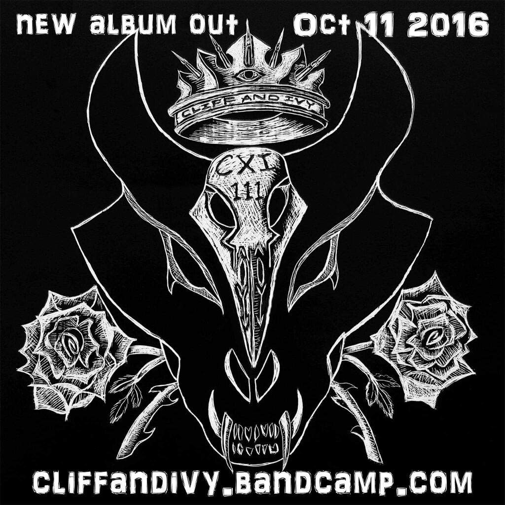 New Album Art Cxi 111 Out Oct 11 Alaskas Goth Duo Cliff And Ivy