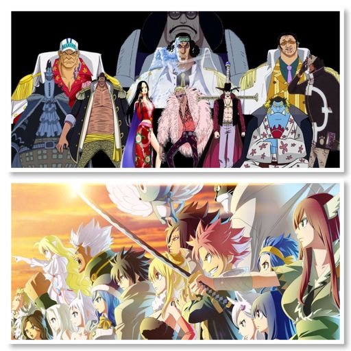 Fairy Tail Vs One Piece 2 0: One Piece World Government Vs Fairy Tail Guild