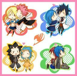 Fairy tail relationships